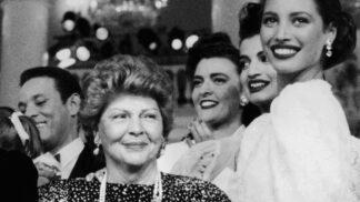Královna odívání Aenne Burdová zemřela před 14 lety: Pracovala v elektrárně, manžela donutila, aby jí založil vydavatelství