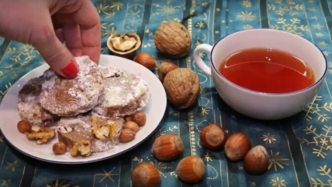 Masarykovo cukroví: Pokud máte rádi lískové ořechy, tuto dobrotu si zamilujete