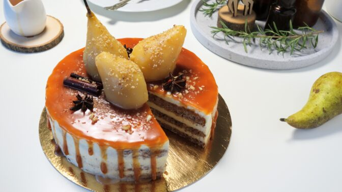 Bezlepkové dezerty s ovocem: Vytáhněte zavařené hrušky, pomeranče i mandarinky