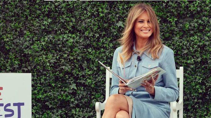 Nejlepší outfity i módní přešlapy Melanie Trump. Kdo stojí za jejím šatníkem?