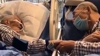 Dojemné video zachycuje poslední společné chvíle čínského páru. Údajně měli i koronavirus
