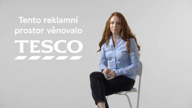 Místo reklamy osvěta: Tesco přepustí svůj vysílací čas Ministerstvu zdravotnictví