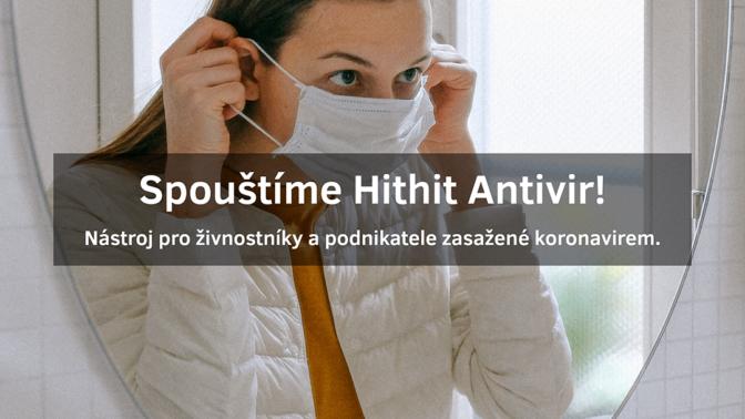 Hithit.cz chce drobným živnostníkům pomoci novým Antivirovým programem