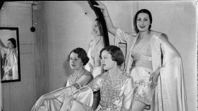 Historie spodního prádla: Autorkou prvního patentu na podprsenku byla Češka