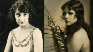 3 půvabné herečky němého filmu, které upadly v zapomnění a osud si s nimi náležitě pohrál