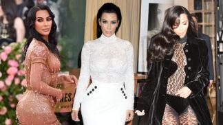 Kim Kardashian: Podívejte se na nejbizarnější modely obdařené módní ikony # Thumbnail