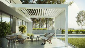 Thumbnail # Letní pohoda na zahradě: Inspirujte se luxusní moderní pergolou jako z filmu