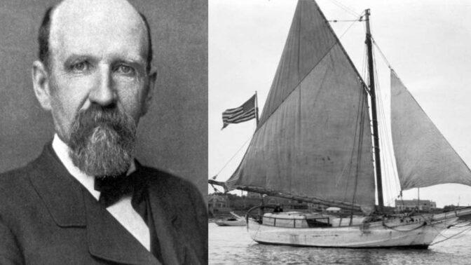 Mořeplavec Joshua Slocum: Vyoperoval si slepé střevo a smrt našel ve vlnách, tělo se nikdy nenašlo