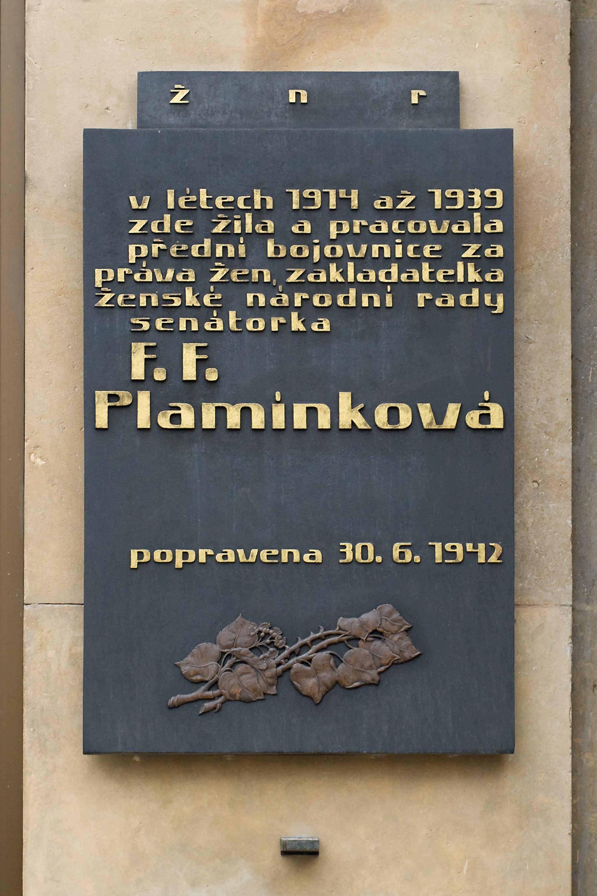 Thumbnail # Františka Plamínková, bojovnice za ženská práva…