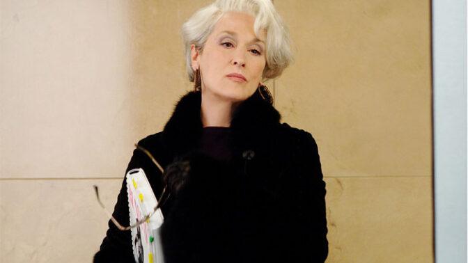 Ďábel nosí Pradu: Meryl Streep získala díky filmu ostré lokty. Její postava byla navíc skutečná
