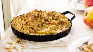 Dezerty z jablek: Vyzkoušejte recept na báječný jablečný crumble