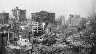 Zmar a zkáza na vzácných snímcích: Stačilo pár minut a San Francisco se ocitlo v troskách