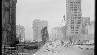 Thumbnail # San Francisco: Unikátní snímky ničivého zemětřesení z roku 1906…