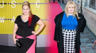 Rafinované módní tipy, jak opticky zmenšit příliš velké pozadí. Umí to i komička Rebel Willson
