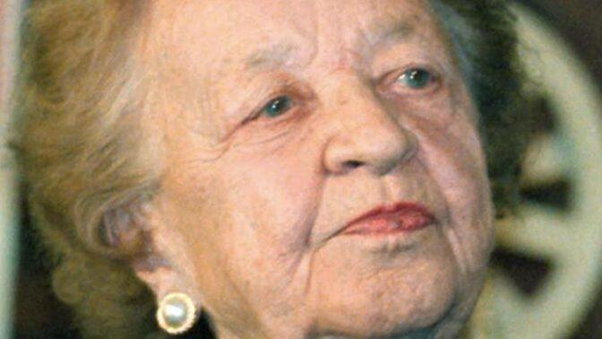 Fan Vavřincová: V životě měla dvě lásky, jednu jí komunisté odepřeli na dlouhých dvacet let