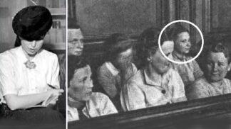 Nacistická bestie J. W. Barkmann: Na pohled krásná a nevinná, v srdci krutá a bez lítosti. Její popravě tleskalo 200 tisíc lidí