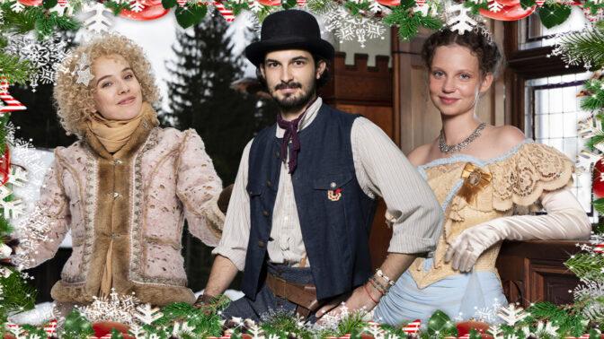 Šťastné a méně šílené! Tohle přejí Česku hvězdy nových vánočních pohádek 2020