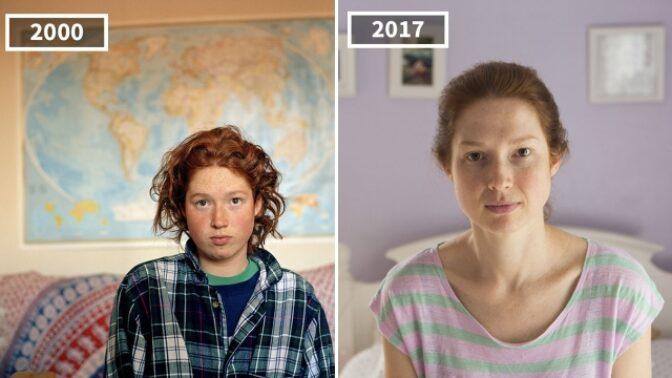 Časy se mění a my s nimi: Američanka nafotila své spolužáky po 17 letech