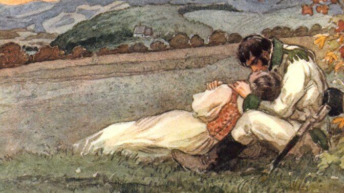 Skutečný osud bláznivé Viktorky od Boženy Němcové: První dítě pohodila v rokli, druhé jí vzali