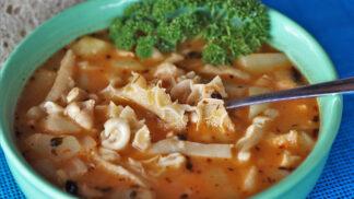 Nejlepší dršťková polévka: Příprava vyžaduje čas a poctivé praní