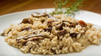 Houbové rizoto: Jak ho připravit z mražených, zavařených či sušených hub