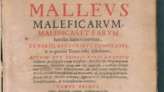 Malleus maleficarum: Tajemná kniha plná odporných návodů na mučení, o které vypráví film Kladivo na čarodějnice