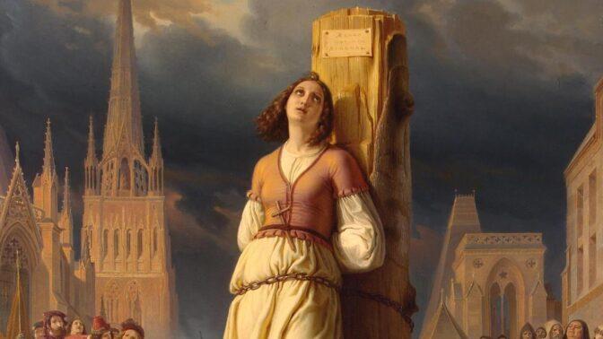 Johanka z Arku: Dovedla vojsko k vítězství a krále na trůn duševně nemocná dívka?