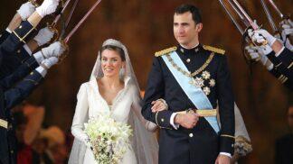 Nejdražší svatební šaty historie: Na španělskou královnu Letizii nemá žádná jiná, ani krásná Kate