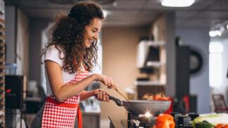 Valentýnské menu: Vepřová panenka plněná špenátem a sýrem