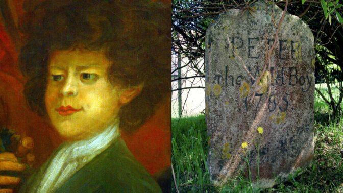 Kabinet kuriozit: Divoký chlapec Petr pobíhal po lesích po čtyřech, dostal obojek se jménem