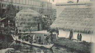 Šokující lidské zoo: Domorodci žili v klecích často i nazí