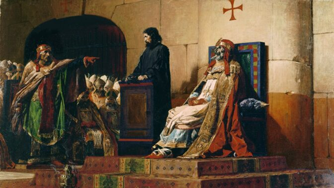 Odporná podívaná: Papež Štěpán VI. nechal do soudní síně přinést měsíce starou mrtvolu svého předchůdce