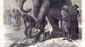 Nejzvrácenější metody mučení ve středověku: Ušlapání slonem i vikingský krvavý orel
