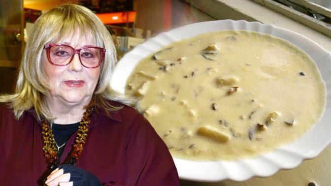 Kulajda: Připravte si polévku z hub, jak ji vaří Naďa Urbánková