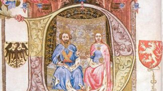Královně Žofii to v životě moc nevycházelo, ale korunovaci měla krásnou. Jen její manžel na ní patrně chyběl