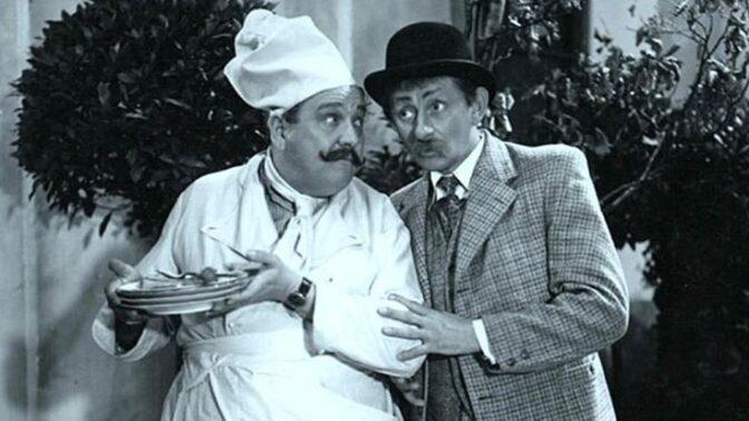 Vlasta Burian zaměstnával královského kuchaře za královský plat. Měl čtyři lednice plné jídla