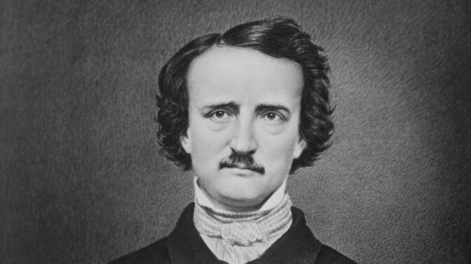 Edgar Allan Poe: Nevěrný alkoholik a karbaník se oženil s třináctiletou sestřenicí. Celý život žil na hraně