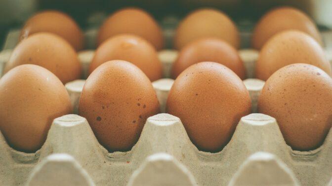 Skladujete vejce v lednici správně? Farmář radí revoluční trik, stačí je postavit špičkou správným směrem