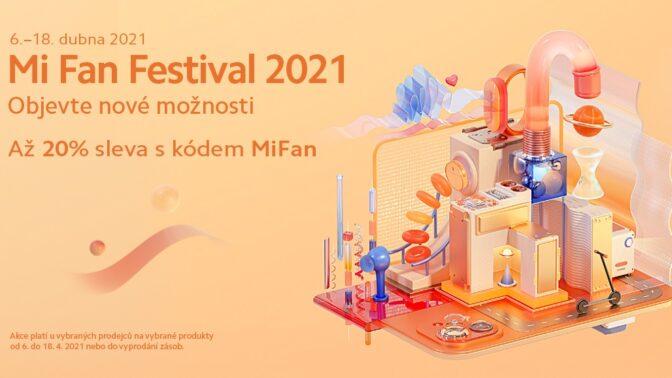 Oslavte příchod jara s Mi Fan Festivalem od Xiaomi! Začíná 6. dubna