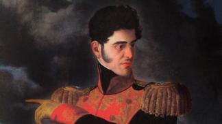 Šílený mexický prezident Santa Anna nechal vlastní nohu pochovat se státními poctami. Sám jí šel na pohřeb