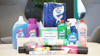 Společnost Tesco nově nabízí své výrobky pro domácnost ve 100% recyklovatelných obalech