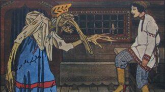 Původní Baba Jaga rozhodně nebyla pro děti: Trhala si ruce a házela dlouhá prsa přes ramena