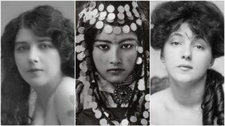 Po těchto kráskách šíleli naši pradědové: Ideál ženské krásy na sto let starých snímcích z celého světa