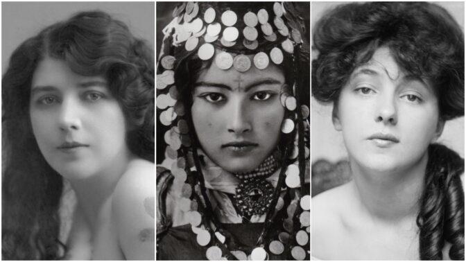 Po těchto kráskách šíleli naši pradědové: Ideál ženské krásy na sto let starých snímcích