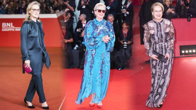 Stárněte s grácií jako Meryl Streep: 10 top outfitů trojnásobné držitelky Oscara