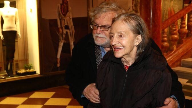 Zesnulá Nina Divíšková: Takhle dojemně o ní v posledních letech mluvil její manžel Jan Kačer