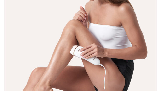 IPL epilace světlem pro hladkou pokožku bez chloupků už za 4 týdny