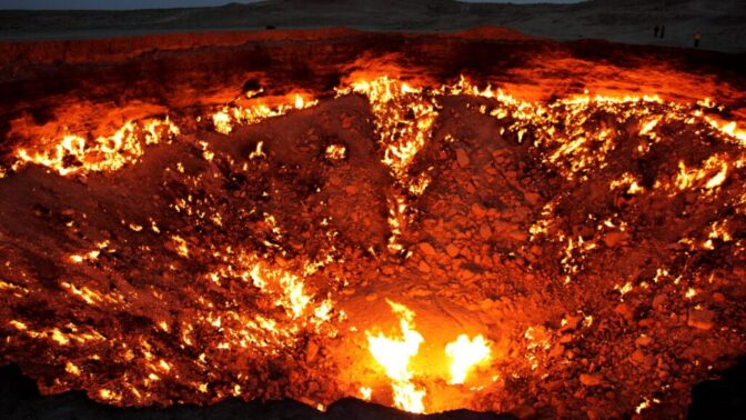 Tajemství Darvazy, děsivé brány do pekla: Vznikla před 50 lety vinou sovětských vědců