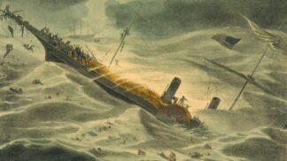 Do aukce jde zlatý poklad ze slavné lodi. Potopil ji hurikán a způsobil tak finanční krizi