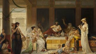 Sběrač zvratků ve starověkém Římě: Obsah cizích žaludků si bral domů, občas mu skončil i na hlavě